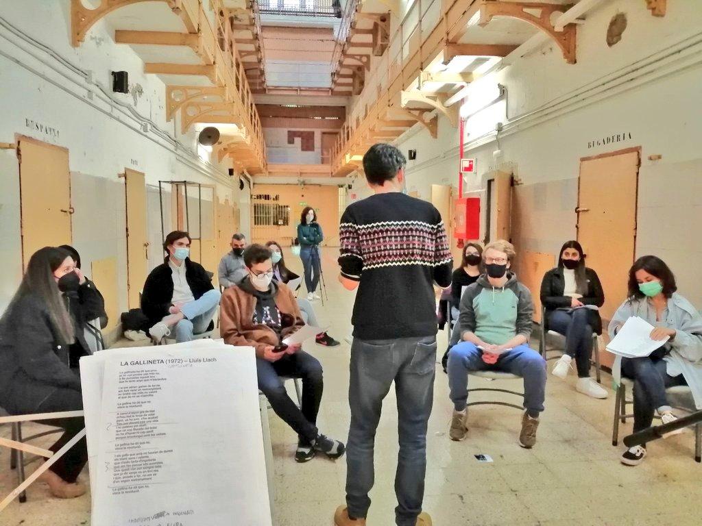 Jordi Montañez a la presó Model
